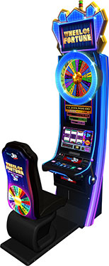 One of the newest coming to casinos soon - Wheel of Fortune® Double Diamond® True 3D