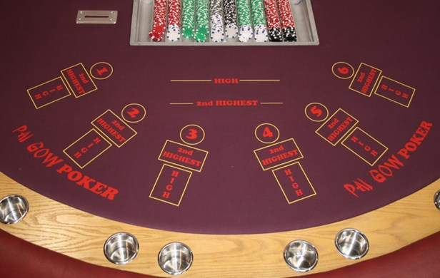 Pai Gow Poker Table. The key is how you set up your hand.
