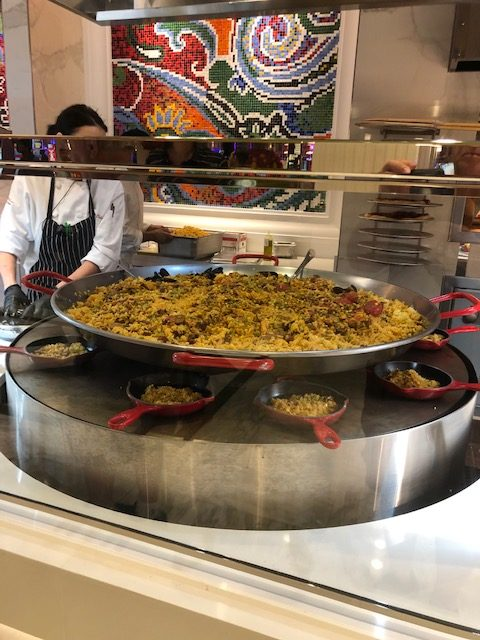 Paella at EBH