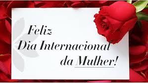 Feliz dia internacional das mulheres
