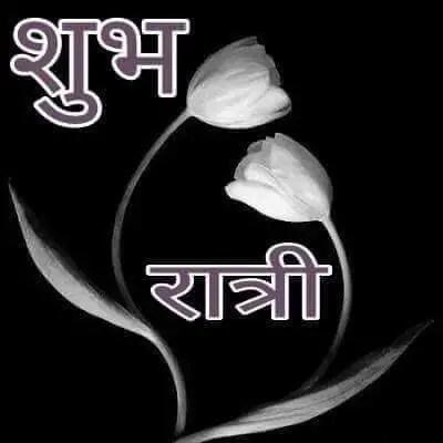 Goodnight hindi wish picture