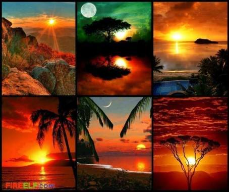 Amazing Sunset photos