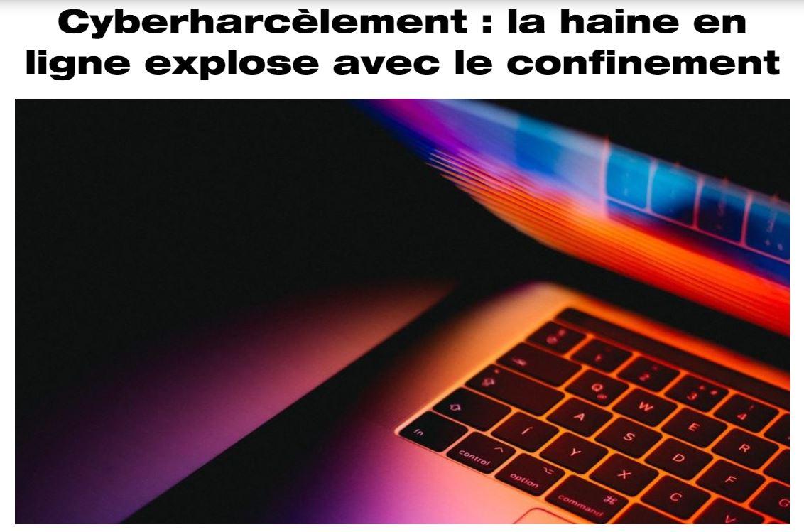 Têtu – La haine en ligne explose avec le confinement