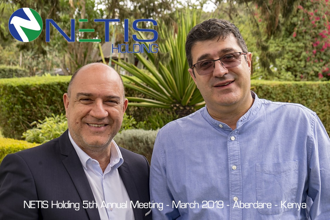 Left to Right - Mr. Jean-Claude FIGALI & Mr. Jean FARHAT - NETIS GROUP Founders and CEOs.