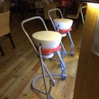 """Ivresse et Design : Tabourets de bar style """"bouchon à bascule""""..."""