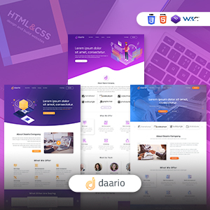Daario- Responsive Corporate HTML Template