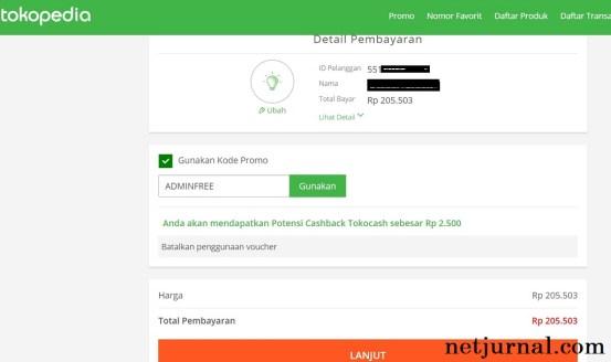 Cara Bayar Tagihan Listrik PLN Via Tokopedia 1
