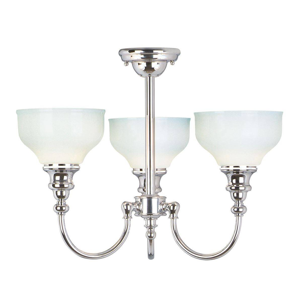 Bathroom Chandelier Lighting 3 Light Bathroom Chandelier Pendant Light Polished Chrome Ip44