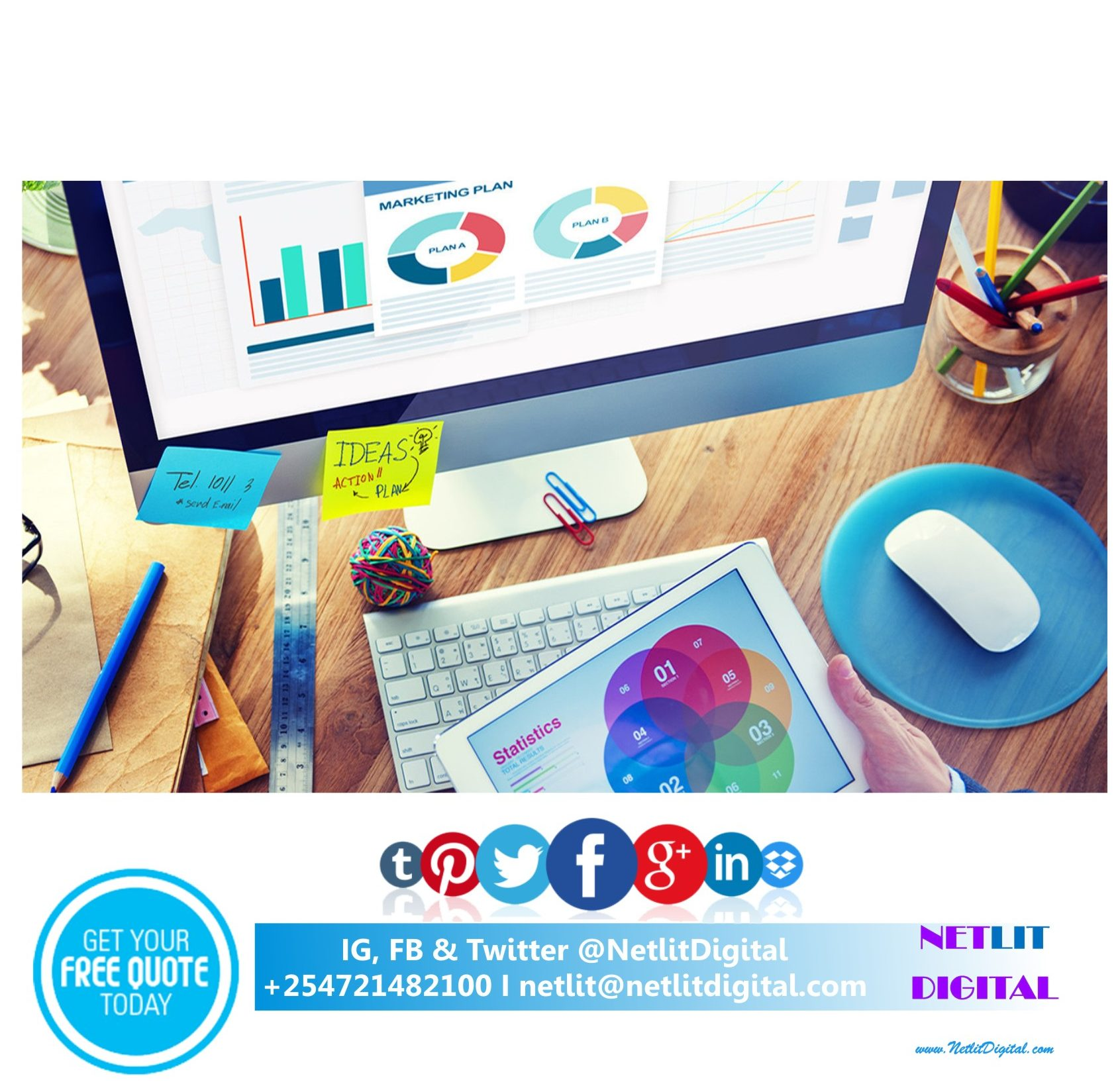 hNetlit Digital marketing web agency Kenyakl