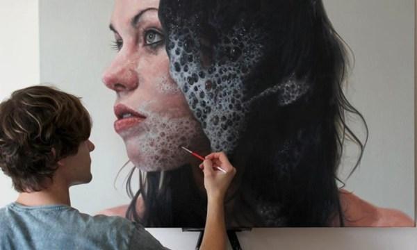 Hyperrealistic Paintings Kyle Barnes