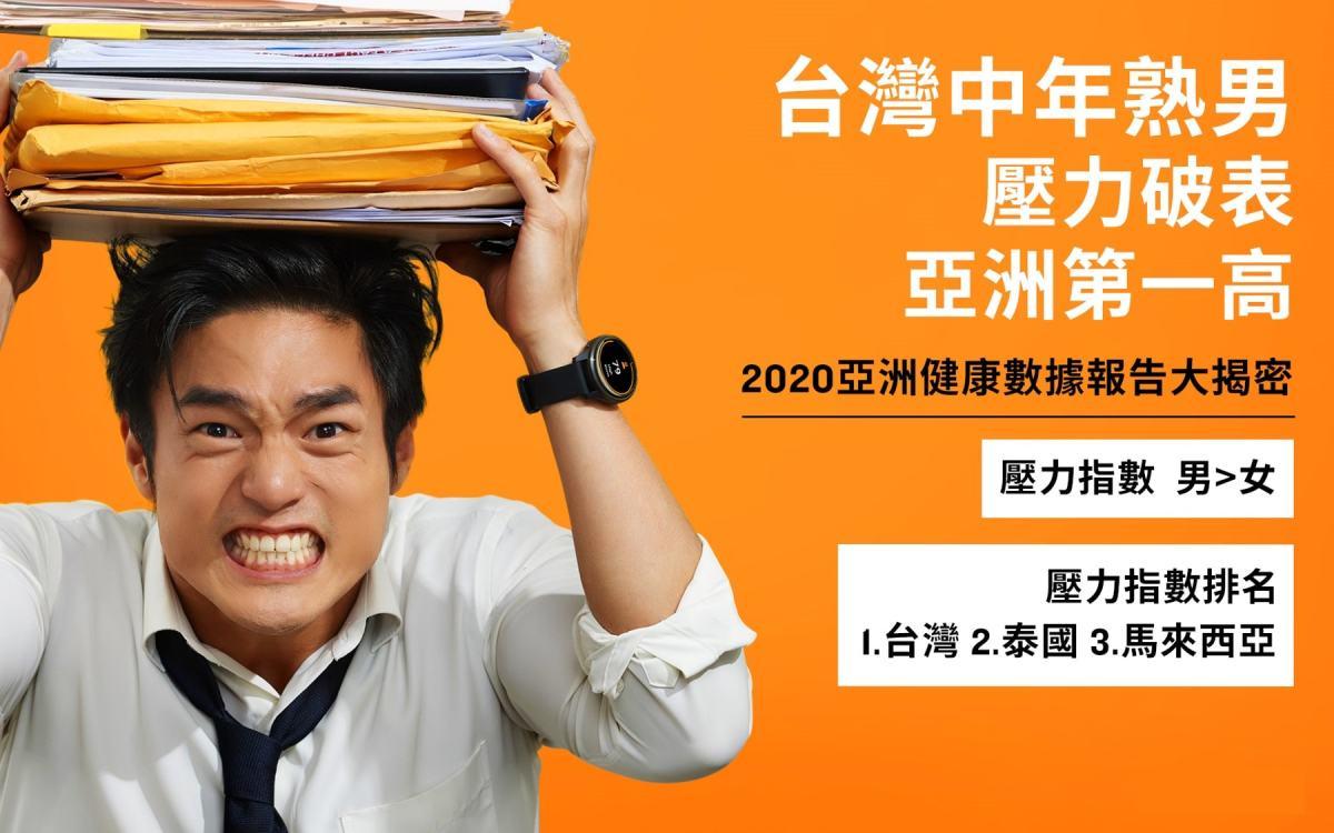 首度公開!Garmin「2020亞洲用戶健康數據報告」解密三大現象,發現台灣中年熟男壓力破表亞洲第一高。.jpg?fit=1200%2C750&ssl=1