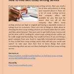 New Ideas Into What Are the Best Essay Writing Service Never Before Revealed