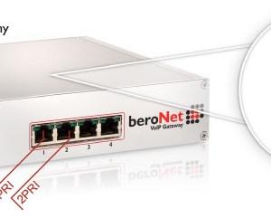 beroNet 2 PRI VoIP Gateway