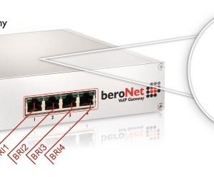 beroNet 4 BRI VoIP Gateway