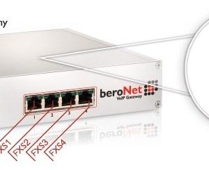 beroNet 4 FXS VoIP Gateway