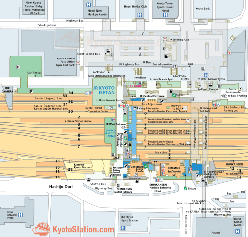 small resolution of kyoto station map