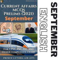 Current Affair MCQs for September UPSC Prelims 2021