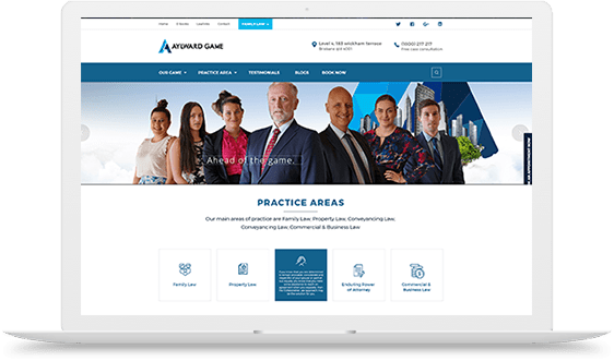 Lawyers Website Design Australia