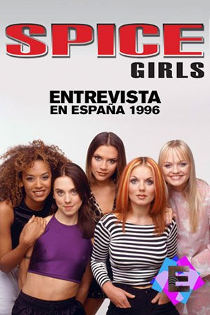 Pose de las 5 componentes del grupo Spice Girls
