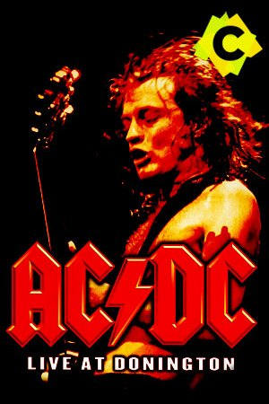 AC/DC - Live at Donington. Angus Young tocando la guitarra an