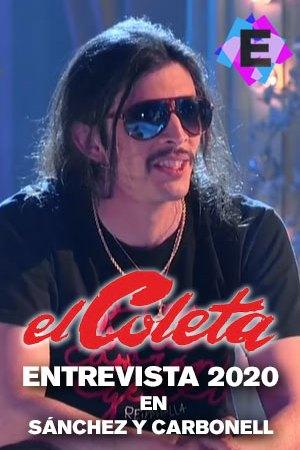 El Coleta - En Sánchez y Carbonell, El Coleta con camiseta negra y gafas de sol