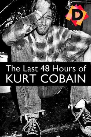 Las Ultimas 48 Hrs. De Kurt Cobain.kurt cobain en blanco y negro llorando