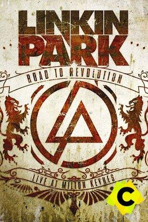 Linkin Park - Road to Revolution logo del grupo con unos leones a los lados