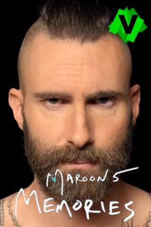 El cantante de Maroon 5 de frenye y con barba
