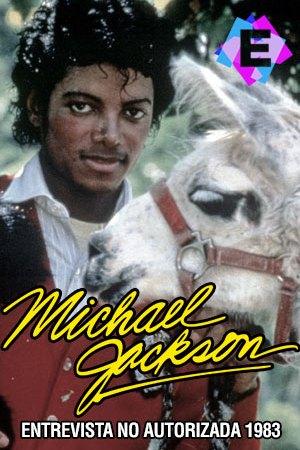 Michael Jackson - Entrevista No Autorizada 1983 - michael con jersey rojo y su mascota una llama