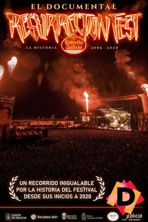 Resurrection Fest: La Historia. publico en un festival