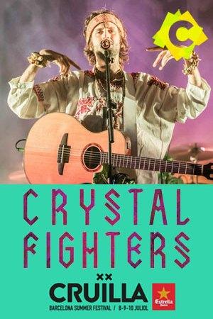 Crystal Fighters - Concierto Cruïlla Festival, Barcelona 2016