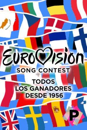 Ganadores Eurovision 1956-2021