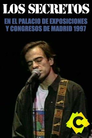 Los Secretos - Palacio de Exposiciones y Congresos, Madrid 1997 . Enrique Urquijo cantando