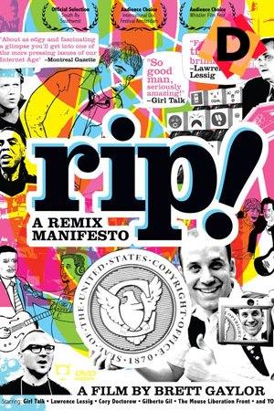 RiP! - A Remix Manifesto . collage de colores y dibujos