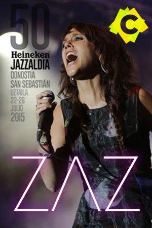Zaz - Concierto 50 Heineken Jazzaldia, Donostia 2015