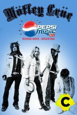 Mötley Crüe - Concierto Pepsi Music Festival, Buenos Aires 2008