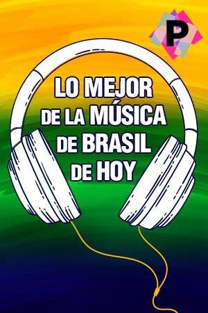 Lo Mejor De La Música De Brasil De Hoy Playlist. cascos con los colores de brasil