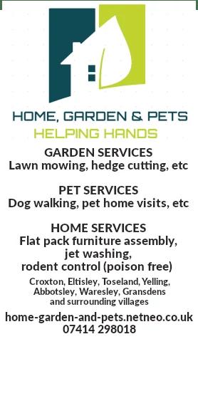 home garden pets services