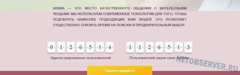 Сайт знакомств Кисмиа - странное поведение счетчиков