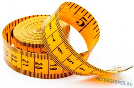 Размеры на Aliexpress - портняжный метр