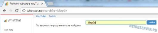 Cколько зарабатывает канал на Youtube: База каналов с аналитикой на whatstat.ru
