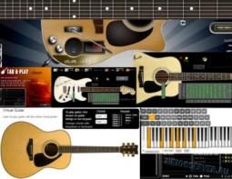 Виртуальная гитара онлайн - logo