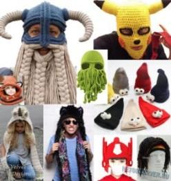 Купить необычные шапки на Алиэкспресс - зимняя подборка