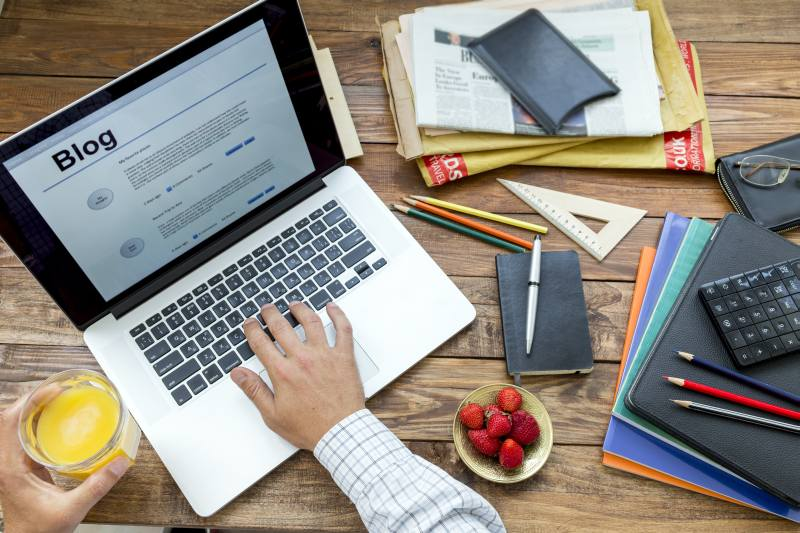 blog writting