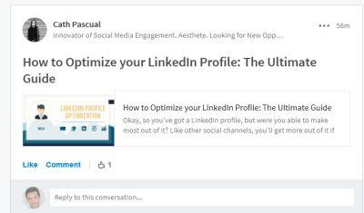 LinkedIn inside group