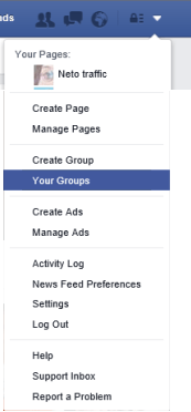 facebook yourgroups