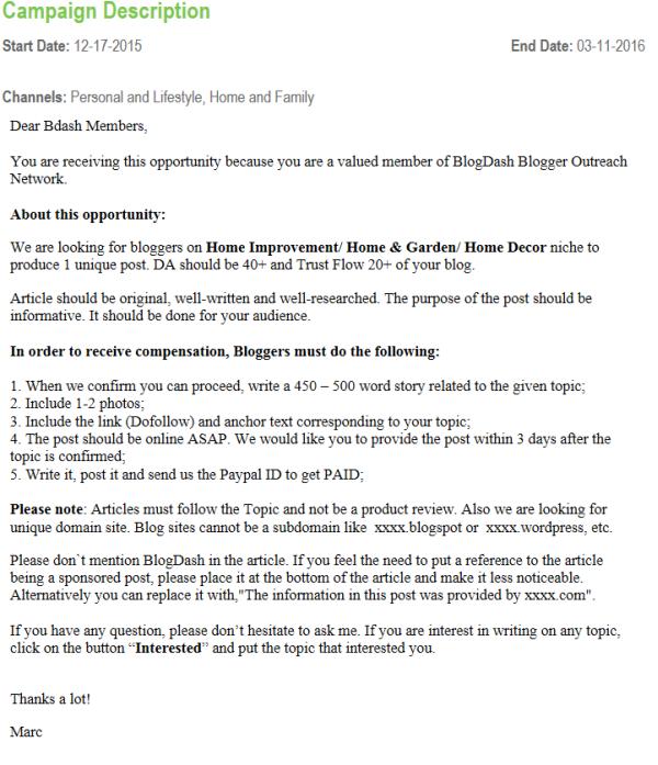 blogdash campaign