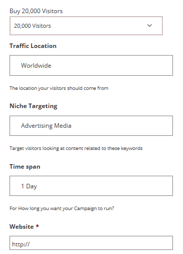 order web traffic