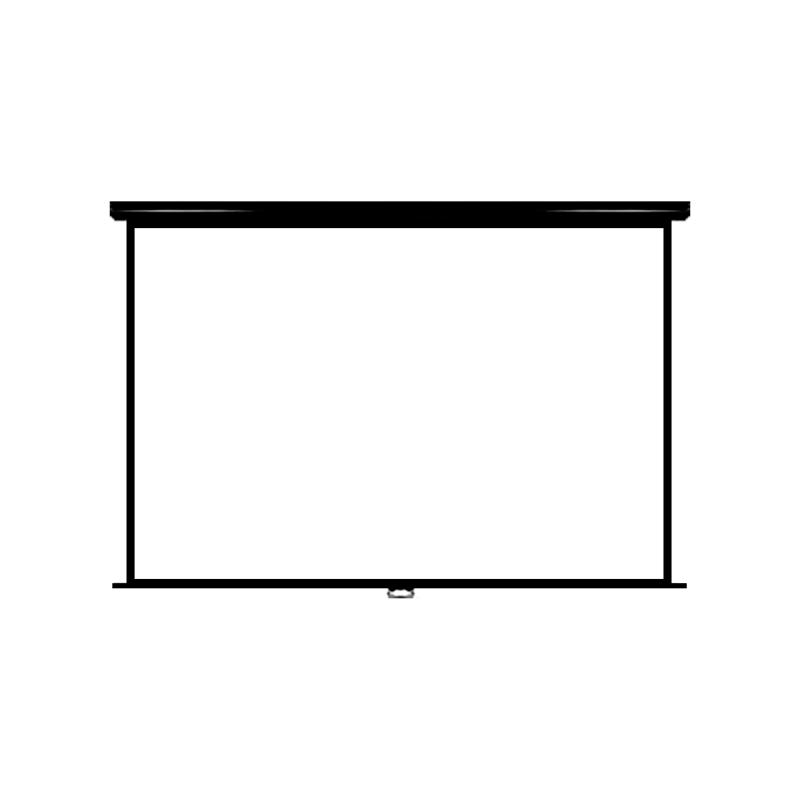 Pantalla Manual para Proyector VIVIBRIGHT 84″ Retráctil