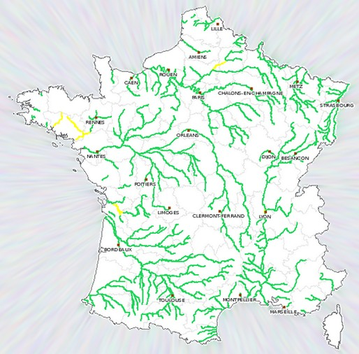 carte france vigicrue